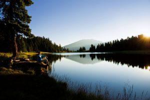 Drei traumhafte Seen gibt es in der Gegend. Foto: Hotel Hochschober