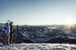 Von der Schmittenhöhe aus bietet sich ein fantastisches Panorama. Foto: Felsch Fotodesign | Schmittenhöhe