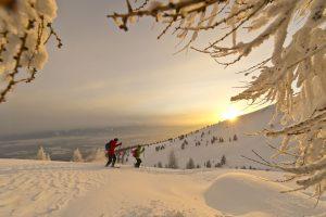 Schneeschuhliebhaber kommen auch voll auf ihre Kosten. - Foto: Kärnten-Werbung / Franz Gerdl