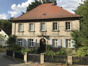 Hier wohnte von Humboldt, als er in Goldmühl lebte. – Foto: Tourismuszentrale Fichtelgebirge