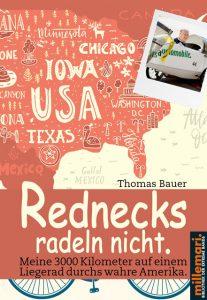 Buchcover USA: Rednecks radeln nicht.