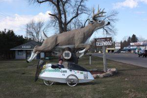 Thomas Bauer in Deerwood, Minnesota.