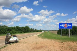 Welcome to Mississippi - endlose Weite.