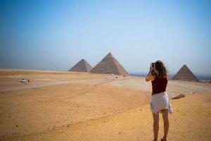 Die Pyramiden - Wahrzeichen Ägyptens. Foto: hitesh0141 | pixabay.com