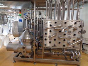 Ruht die Produktion, dann wird peinlichst darauf geachtet, dass alle Geräte picobello sauber sind. - Foto: Dieter Warnick