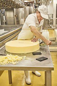Gute Pflege ist für jeden Laib Käse genauso wichtig wie die Herstellung. - Foto: Bayern.by – Gert Krautbauer