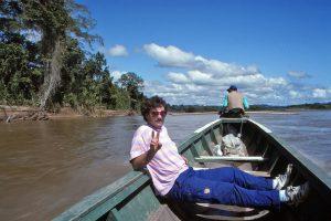 Im Amazonas-Gebiet.