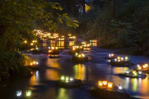 Am 3. August findet in Baiersbronn die Buhlbachtalbeleuchtung statt. - Foto: Baiersbronn Touristik