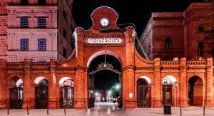 Die Baumwollspinnerei von Izrael Poznanski  war eine der größten seiner Art weltweit. Heute ist die MANUFAKTURA  eine der größten Shopping-Malls Polens. Foto: Sebastian Glapinski | platinstudio.com | [archiwum UML]