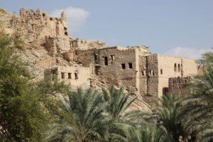 Alte Lehmhäuser im Ort Birkat Al Mawz. - Foto: Michael Stephan