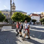 Bad Reichenhall verfügt über eine großzügig gestaltete Fußgängerzone, schöne Plätze und viele Brunnen; ein Besuch lohnt allemal. – Foto: Berchtesgadener Land Tourismus / Tom Lamm