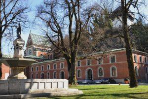 In der Alten Saline ist die Kunstakademie untergebracht. – Foto: Berchtesgadener Land Tourismus