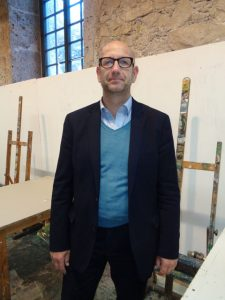 Leitet seit Oktober 2017 die Kunstakademie: Stefan Wimmer. – Foto: Dieter Warnick