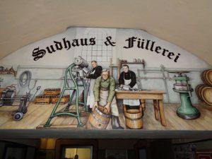 Sudhaus und Füllerei – am Bierbrauen hat sich im Laufe der Jahrhunderte einiges geändert. - Foto: Dieter Warnick