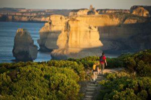 Die weltbekannte Great Ocean Road in Victoria. Foto: Visit Victoria