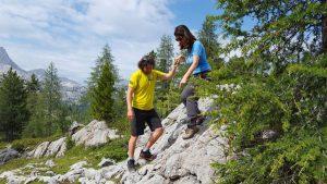 Schritt für Schritt: Einführung ins Bergwandern. - Foto: Berchtesgadener Land Tourismus