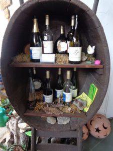 Auch so kann Wein im Fass gelagert werden. – Foto: Dieter Warnick