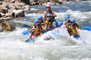 Vollmond-Rafting ist ein einmaliges Abenteuer. - Foto: Breckenridge Tourism Office