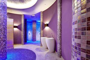 Blick in den Nass- und Saunabereich. – Foto: Wildkogel Resorts