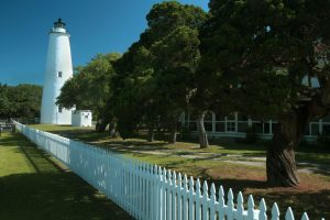 The Ocracoke Lighthouse im US-Bundesstaat North Carolina. – Foto: VisitNC