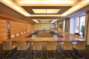 Im Hotel gibt es drei Konferenzräume; Tagungen in der Klostermühle abzuhalten ist sehr attraktiv. – Foto: Michael Meyer Photographie