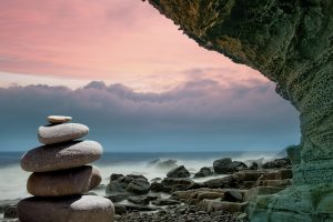 Ausgeglichenheit - das findet sich leicht in einem Wellnessurlaub in Dänemark.