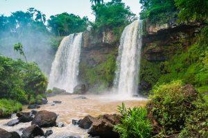 Brasilien begeistert mit vielen Wasserfällen. Foto © pixabay/Heibe