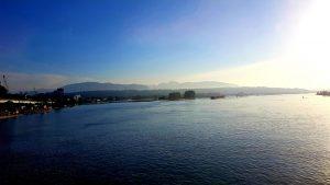 In der Ebene, eine Stunde vor Vancouver.