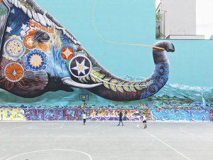 Streetart in Berlin. Foto: Defshop