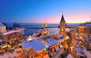 Die Lindauer Hafenweihnacht gilt als einer der schönsten Weihnachtsmärkte Deutschlands - Foto: Wolfgang Schneider / Lindau Tourismus