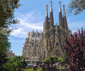 Die Sagrada Familia in Barcelona. Foto: Patrice_Audet | pixabay.com