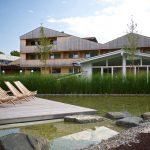 Ruhe und Muße findet man in der Gartenanlage. – Foto: Hotel Tannenhof