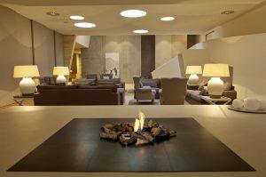 Stylisch und modern – die Tannenhof-Lounge. – Foto: Hotel Tannenhof