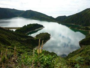 Lagoa do Fogo.