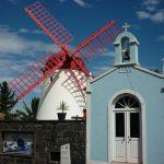 Windmühle auf São Miguel.