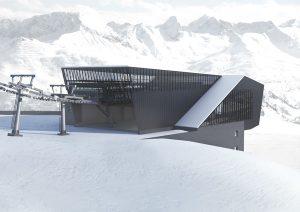 Mehr Abfahrtsmöglichkeiten, mehr Komfort – im Winter 2019/20 bereichert die neue Schindlergratbahn das Skigebiet von St. Anton am Arlberg. – Foto: Arlberger Bergbahnen AG
