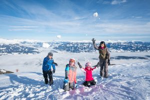 Sportberg Goldeck: Hier fahren Kinder gratis Ski. – Foto: MTG / Gert Perauer
