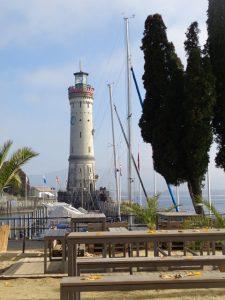 Der neue Leuchtturm ist 36 Meter hoch; 139 Stufen führen hinauf. Oben angekommen, ist der Rundblick grandios. – Foto: Dieter Warnick