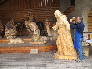 Weltbekannt ist die Holzschnitzkunst. - Foto: E. Albrecht