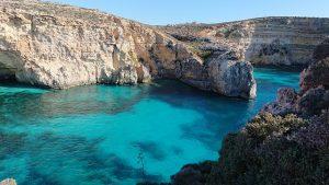 Türkisblaues Wasser ist typisch für Malta. Foto: Bild von Margaret King | pixabay.com