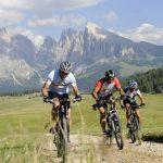 Mountainbiker finden auch geeignete Strecken. - Seiser Alm Marketing/Laurin Moser