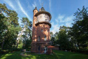Der Wasserturm Waren liegt in der Ortschaft Waren an der Müritz (Mecklenburger-Seenplatte). – Foto: Jan Kulke
