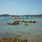 Bucht auf Caprera. Foto: Küffner