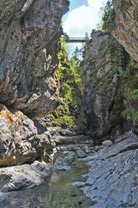 Die Asamklamm in Eschenlohe ist ein wahres Naturjuwel. – Foto: Tourist-Info Eschenlohe / Sophia Lohse