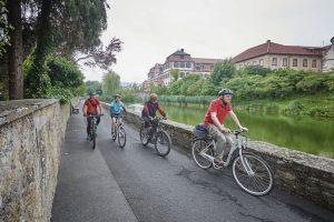 Radfahrer kommen in und um Hammelburg voll auf ihre Kosten. – Foto: Florian Trykowski