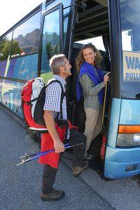 Das Eggental investiert in den Ausbau des Busnetzes. – Foto: Eggental Tourismus