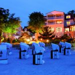 Strandhotel Bansin am Abend. Foto: © Dirk Eisermann