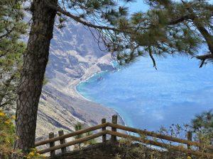 Als wäre es gemalt: Blick auf die Bonanza-Bucht.