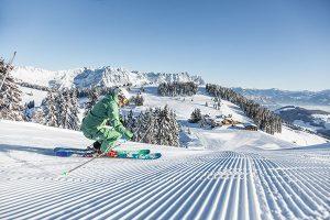 Die SkiWelt Hopfgarten-Itter punktet mit 288 bestens präparierten Pistenkilometern. - Foto: mirjageh