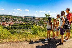 """Der """"Panoramaweg Taubertal"""" erfüllt zum vierten Mal in Folge die Kriterien des Deutschen Wanderverbandes für den Qualitätsweg """"Wanderbares Deutschland"""". - Foto: TLT / Thomas Weller"""